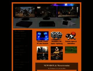pisa-entertainment.de screenshot