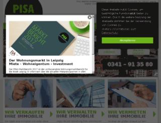 pisa-management.de screenshot