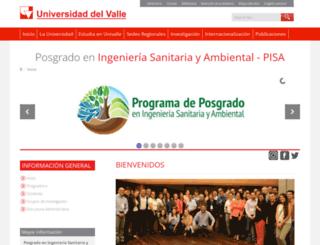 pisa.univalle.edu.co screenshot
