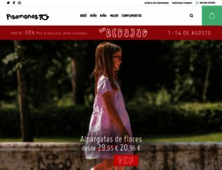 pisamonas.es screenshot