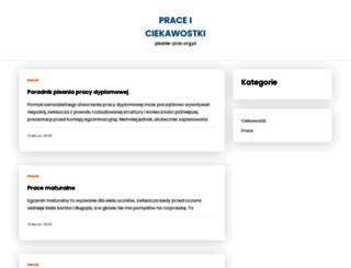 pisanie-prac.org.pl screenshot