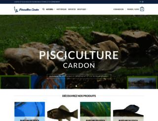 pisciculture-cardon.com screenshot