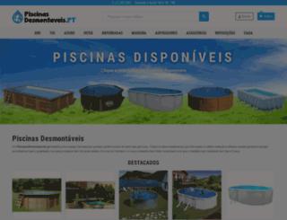 piscinasdesmontaveis.pt screenshot