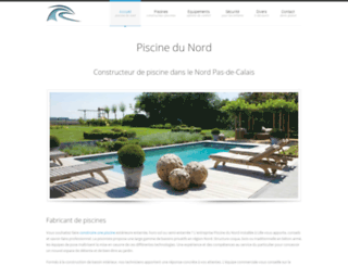 piscinedunord.fr screenshot