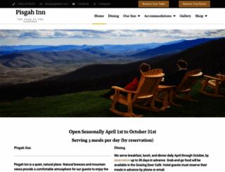 pisgahinn.com screenshot