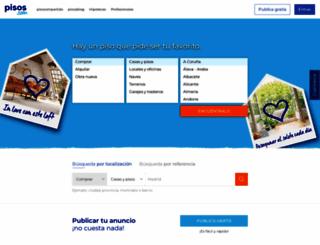 pisos.com screenshot