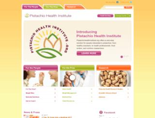 pistachiohealth.com screenshot