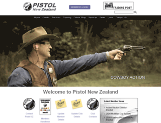 pistolnz.org.nz screenshot
