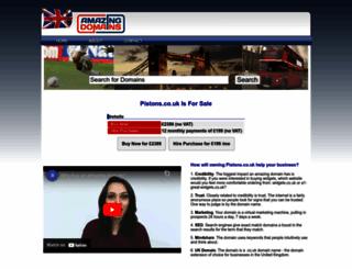 pistons.co.uk screenshot