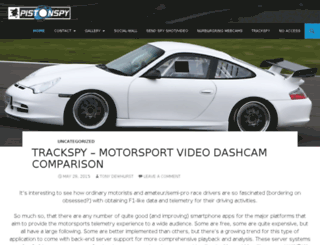 pistonspy.com screenshot