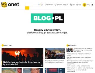 piszesie.blog.pl screenshot