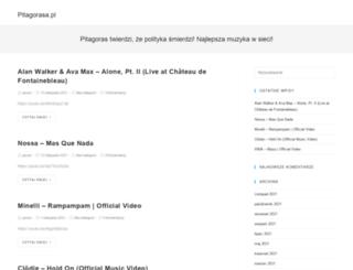 pitagorasa.pl screenshot