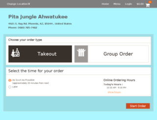 pitajungle-ahwatukee.patronpath.com screenshot