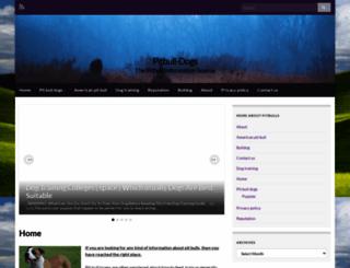 pitbull-dogs.com screenshot