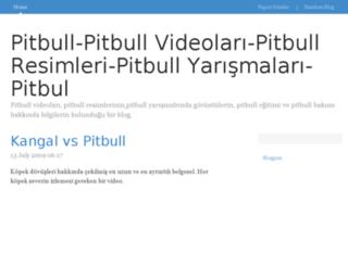pitbull.bloggum.com screenshot