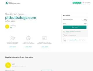 pitbullsdogs.com screenshot