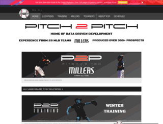 pitch2pitch.com screenshot