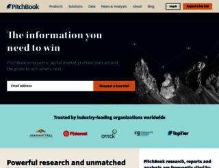 pitchbook.com screenshot
