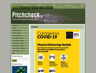 pitchcheck.ie screenshot