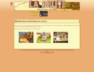 pitchschifter.labrute.fr screenshot