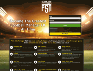 pitchsidemanager.com screenshot