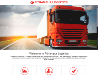 pithampurlogistics.com screenshot