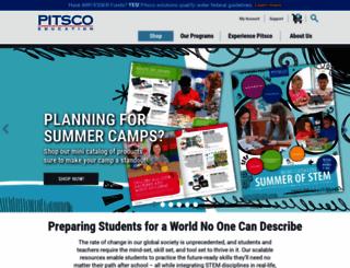 pitsco.com screenshot