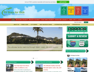 pitstopsforkids.com screenshot