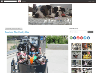 pittiesincity.blogspot.ca screenshot