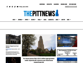 pittnews.com screenshot