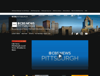 pittsburgh.cbslocal.com screenshot