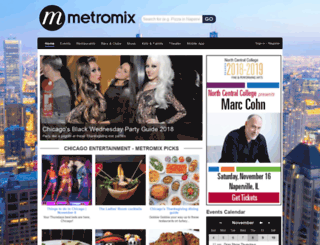 pittsburgh.metromix.com screenshot