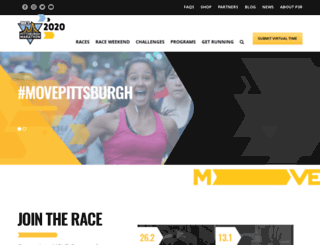 pittsburghmarathon.com screenshot