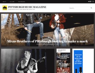pittsburghmusicmagazine.com screenshot