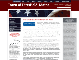 pittsfield.org screenshot