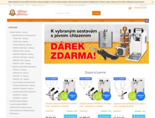 pivnichlazeni.cz screenshot