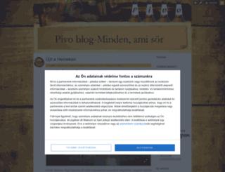 pivo.blog.hu screenshot