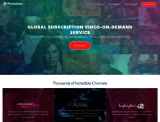 pivotshare.com screenshot
