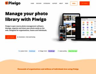 piwigo.org screenshot