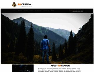 pixception.com screenshot