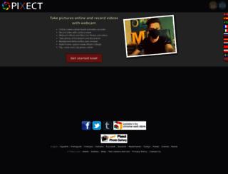 pixect.com screenshot