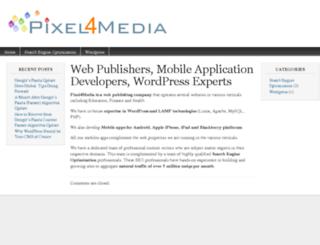 pixel4media.com screenshot