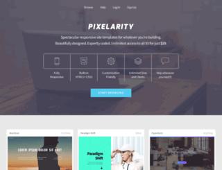 pixelarity.com screenshot