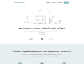 pixeldm.com screenshot