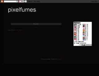 pixelfumes.blogspot.com screenshot