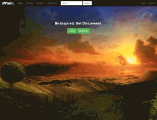 pixelfy.flippydemos.com screenshot