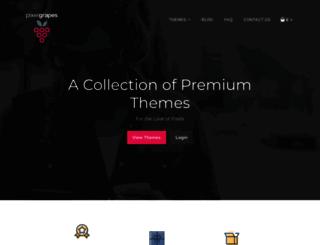 pixelgrapes.com screenshot