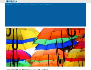 pixelizam.com screenshot