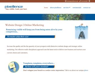 pixellence.com screenshot