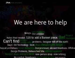 pixelmagnus.com screenshot